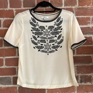 Madewell Cream Top